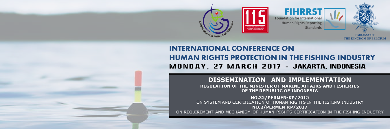 INTERNATIONAL CONFERENCE ON HUMAN RIGHTS PROTECTION IN THE FISHING INDUSTRY