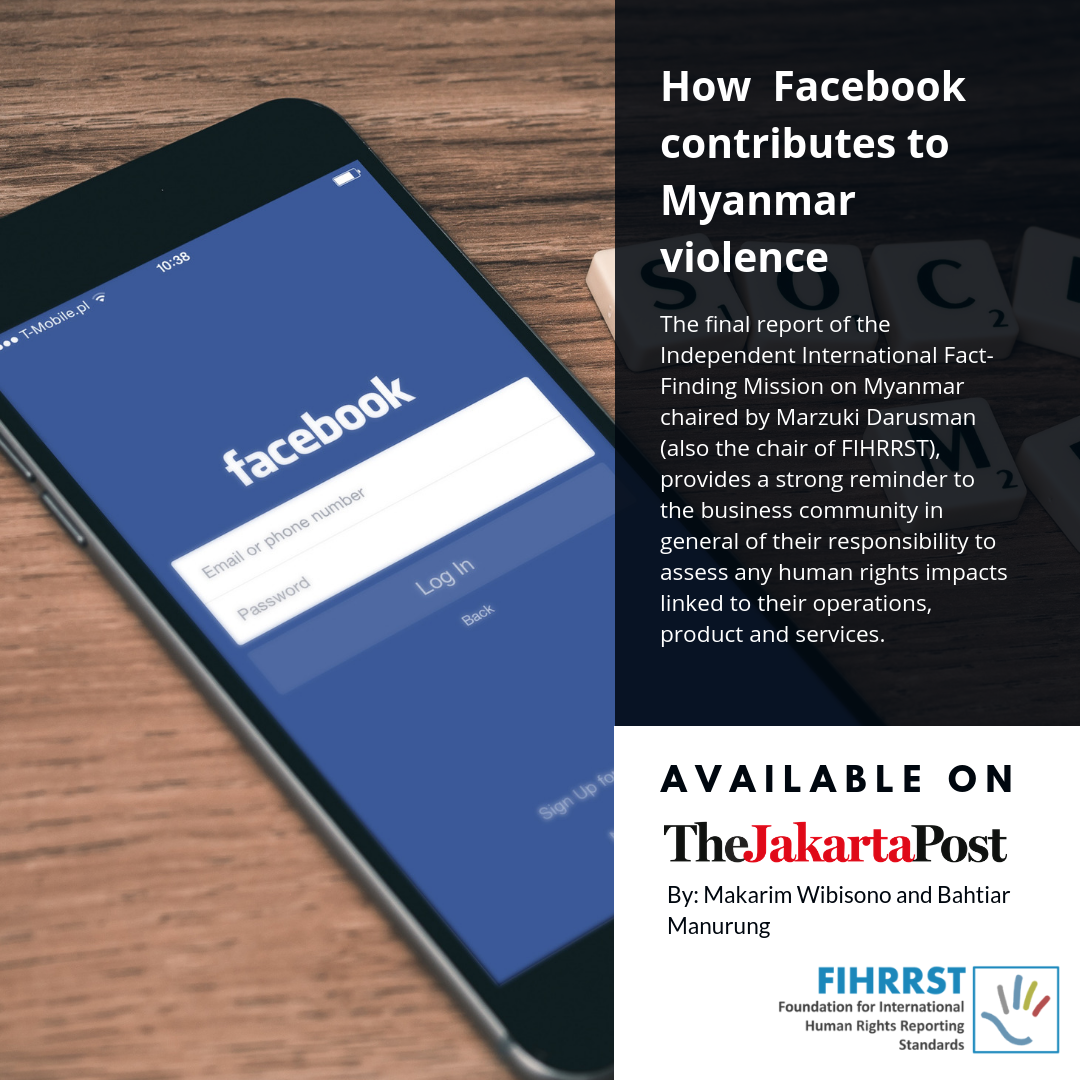 How 'unchecked' impacts led Facebook to contribute to Myanmar violence