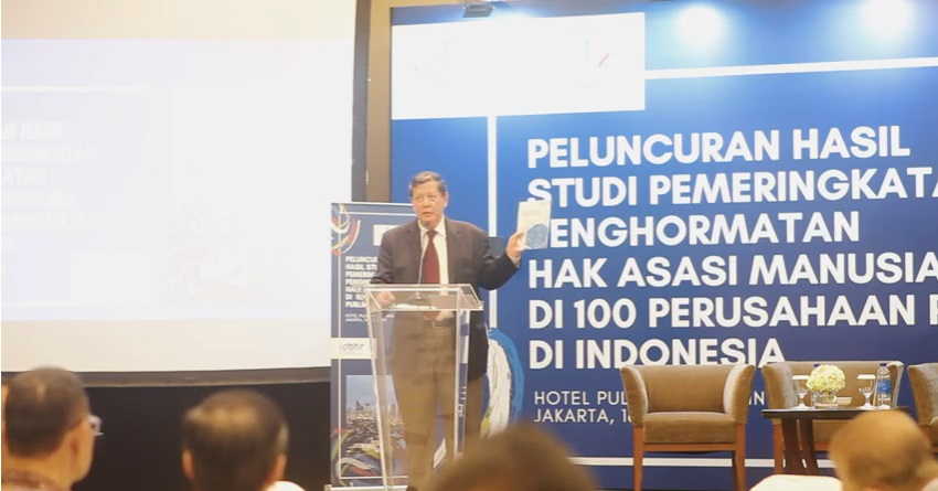 Launch of the Study and Ranking of Respect for Human Rights in 100 Indonesian Public Companies